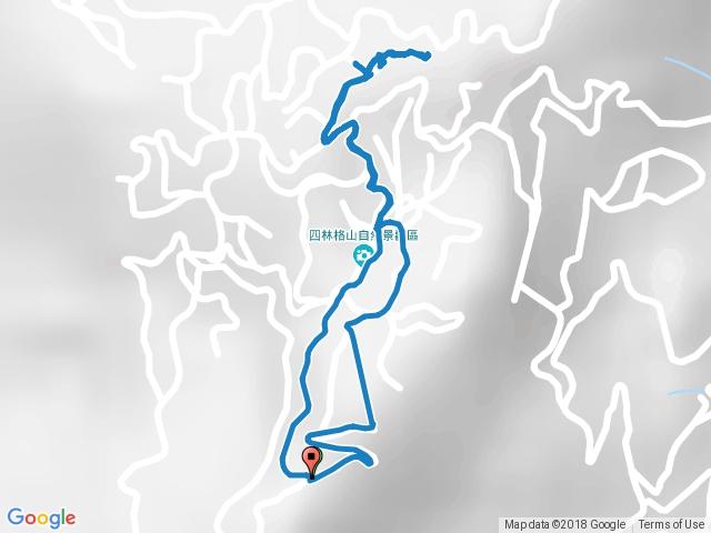 四林格山遊樂區、四林格山步道