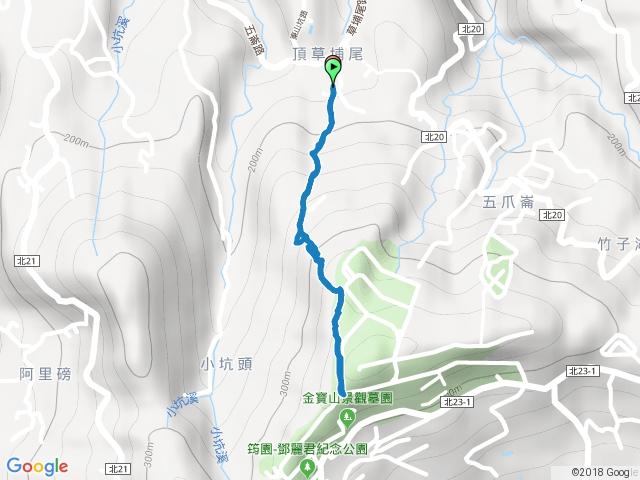 石門茶山步道主線