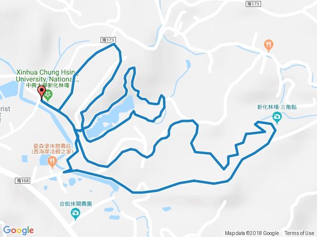 中興大學新化林場步道群