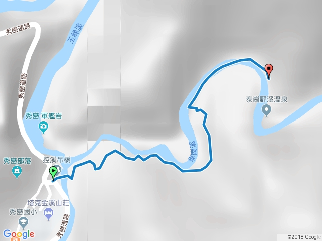 泰崗溫泉步道