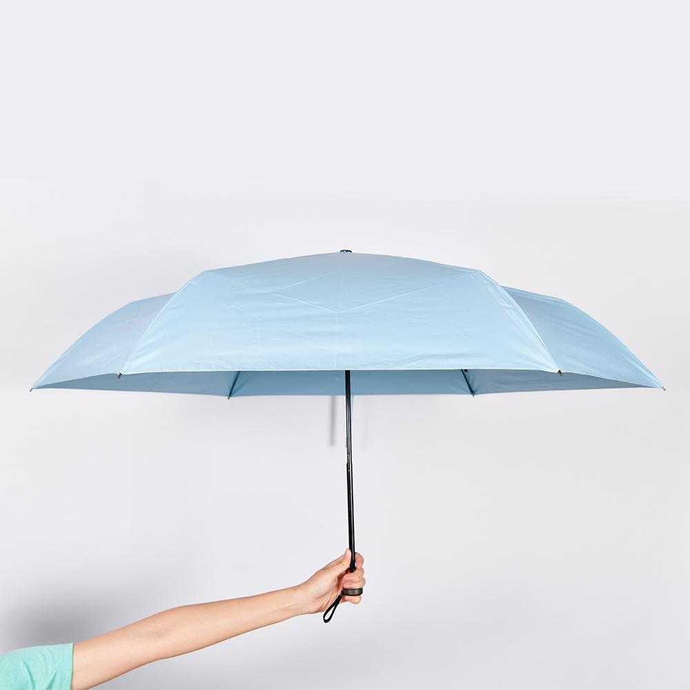 【HOSWA】極輕量降溫傘 3件組(58cm、台灣製)21