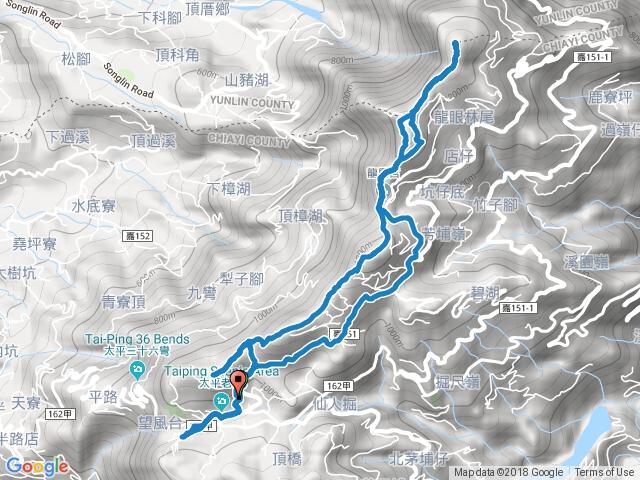 20180715-雲嘉五連峰