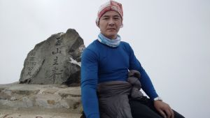 玉山主峰登頂照