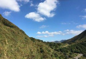 七星山主峰小白岳這個時節欣賞芒花季