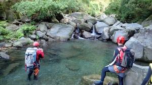 拉拉山源流-卡拉溪溯溪