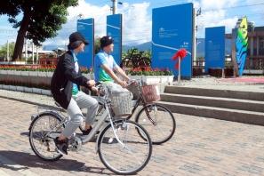 【活動】關山自行車打卡點 正式啟用