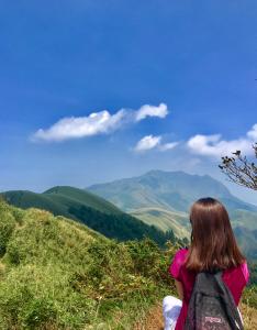 劍竹林海,小觀音山(西峰、北峰、主峰)
