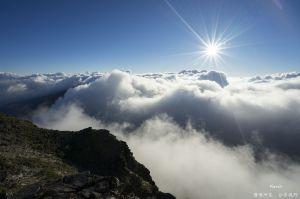 遙遠的奇萊主峰