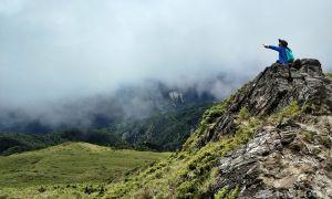 媽咪&寶貝的第二個百岳/合歡群峰石門山no.66,石門山登山
