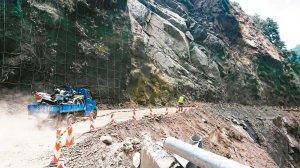 【新聞】台7線32.5K復興區榮華橋附近坍方因施工需要每2小時放行1次