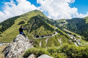 合歡尖山 - 尖尖峭峭冰斗峰,陡升陡降好刺激