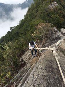 106年第一次攀岩就愛上了它
