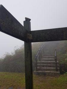 迷霧中的貂山古道