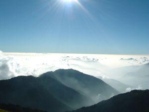 合歡主峰看日落