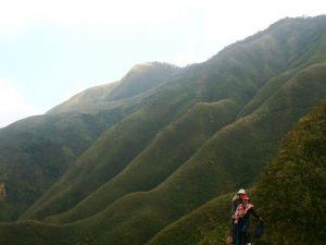 礁溪五峰旗瀑布聖母山莊步道