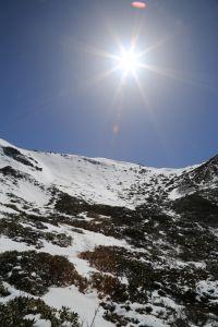 2018雪季走雪山西稜