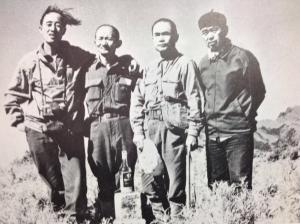 1974林文安遇難,隔年山界於殉難處立碑