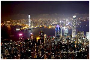 香港太平山山頂環迴步行徑+百萬夜景