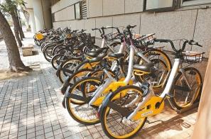 搶微笑單車市場 新加坡oBike台北試水溫