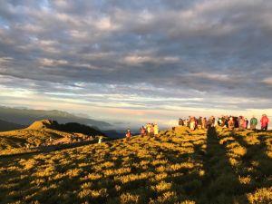 早晨的奇萊南峰/南華山