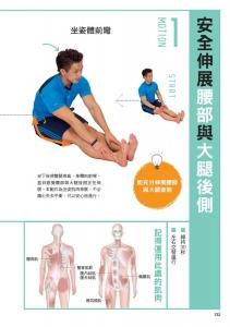 【書摘】《一伸一扭治痠痛》-3招伸展大腿後側
