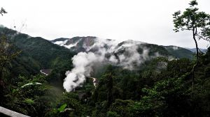 11月的山水畫太平山