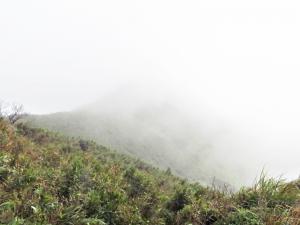 小觀音山(西,主峰)與大屯溪古道/三板橋