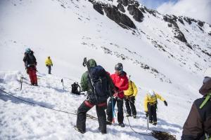 2016年初雪山雪地訓練