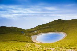 經歷天氣萬象的嘉明湖