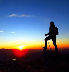 【健行語錄】山的高度用雙腳來踏量