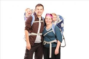 【親子健行】親子登山初體驗:幼兒背負架