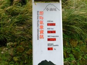 七星山主東峰登山步道