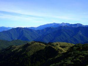 合歡北峰下天巒池