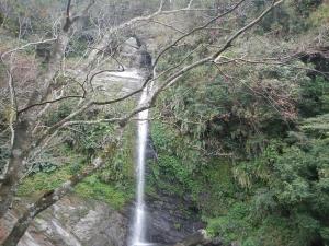 瓦拉米步道之山風瀑布