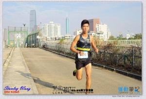 10公里賽首 7.5公里位置 (得月樓警崗)