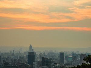 象山爬夕陽