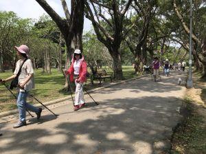 【客家公園】愛行者北歐式健走月健走活動