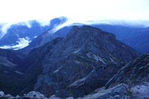 玉山主峰系列~雲瀑之美