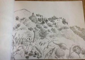 陽明山國家公園  隨筆寫生
