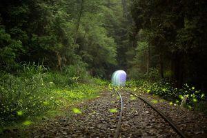 【美哉台灣】鐵道。螢河