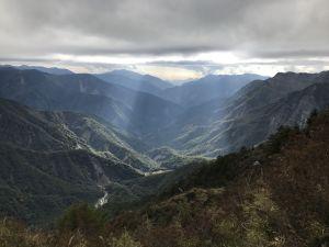 石瀑之美-玉山前峰