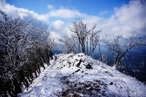 【日本】2015 冬.奈良、大阪山行 - 冰雪山行.高見山