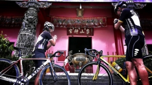 不用跑遠,在三峽李山神宮就可以體驗『東進武嶺』的快樂