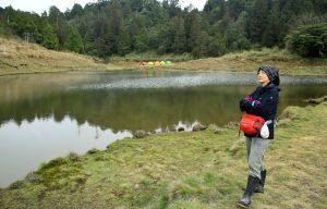 神秘絕美加羅湖