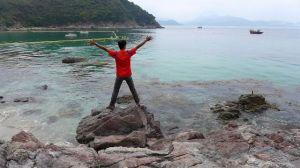【香港】海上的火成岩地質教室-西貢古火山海路漫遊