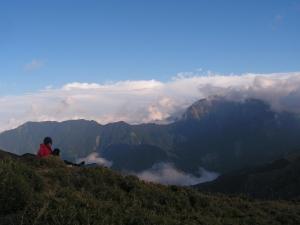 山岳之美_面奇萊主壁
