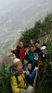 【新北/瑞芳】勇闖黃金稜線, 東北角基隆山稜線岩壁攀爬