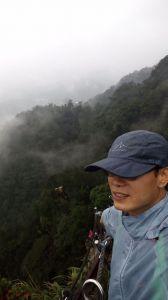 雨絲霧氣看平溪