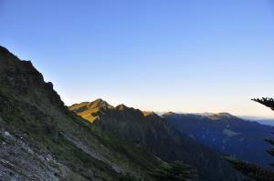 山岳之美 盛夏的奇來主北