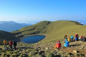 再訪嘉明湖-2015.4.25